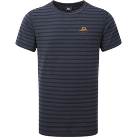 Mountain Equipment Groundup T-shirt Heren, cosmos stripe